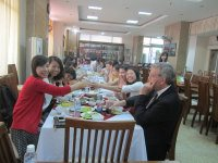 Lunch with participants